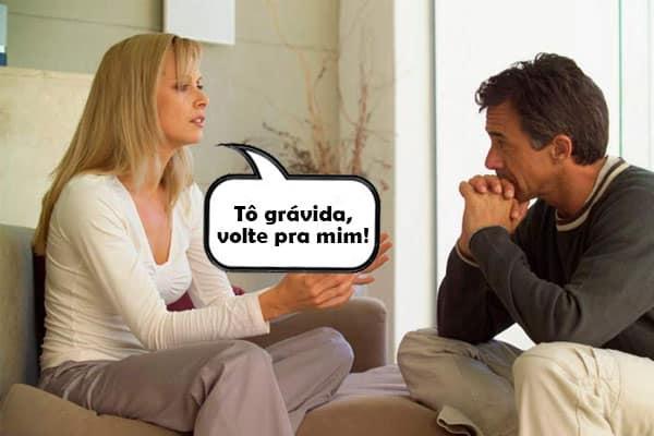 COMO RECONQUISTAR O EX NAMORADO ESTANDO GRÁVIDA!